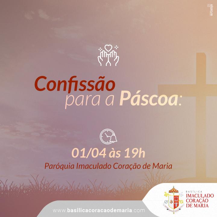 Confissão para a Páscoa